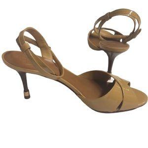 Tory Burch Tania strap Heeled sandals sz 9 EUC